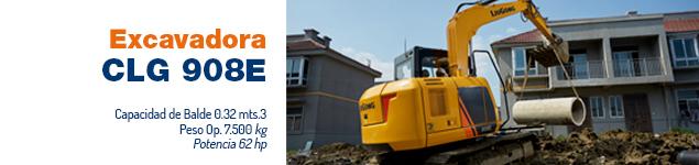 Excavadora CLG 908E