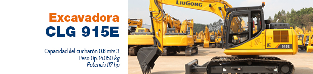 Excavadora CLG 915E