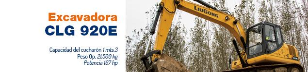 Excavadora CLG 920E
