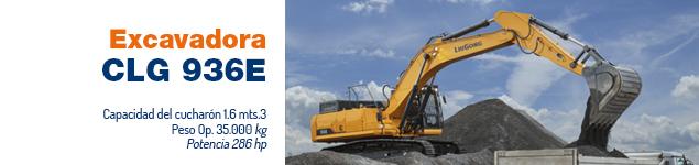 Excavadora CLG 936E