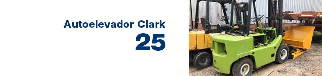 Autoelevador Clark