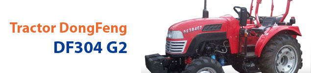 Tractor DongFeng DF 304 G2 (4×4)