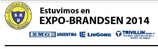ZMG Argentina – Liugong presentes en Expo Brandsen 2014