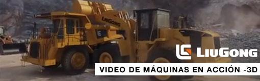 Máquinas Liugong en acción (3D)