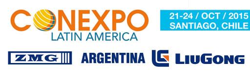 ZMG Argentina – Liugong presentes en CONEXPO 2015