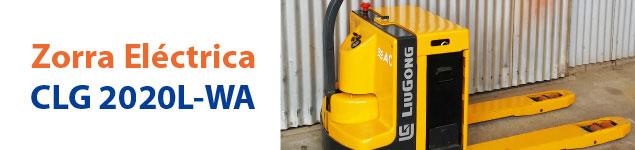 Zorra Eléctrica CLG-2020L-WA