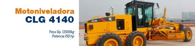 Motoniveladora CLG 4140