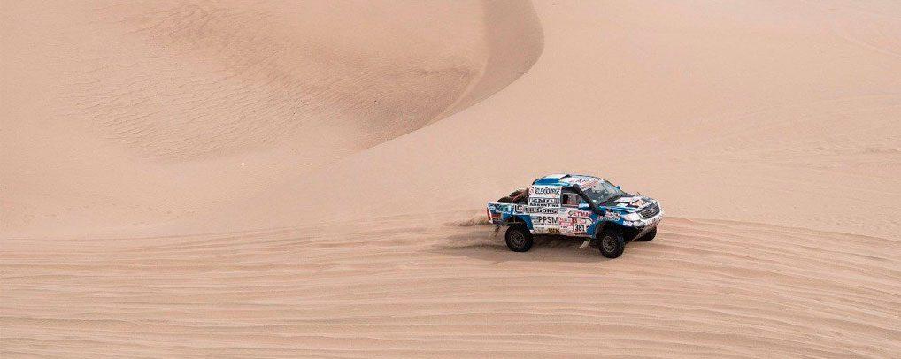 El Rally Dakar llego a su fin con presencia de Liugong Dakar Team