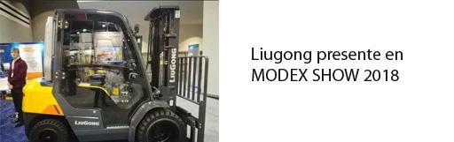 Liugong dio a conocer sus novedades en MODEX SHOW 2018