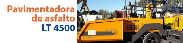 Pavimentadora de asfalto LT 4500