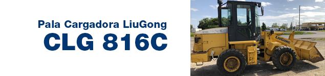 Pala Cargadora CLG 816C