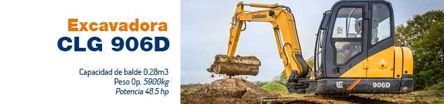 Excavadora CLG 906 D