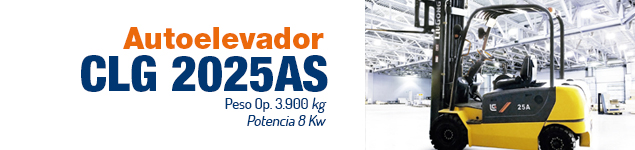 Autoelevador CLG 2025AS
