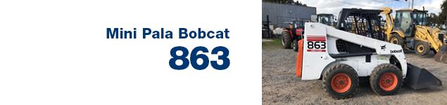 Mini Pala Bobcat 863