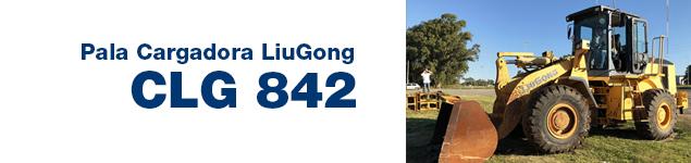 Pala Cargadora CLG 842
