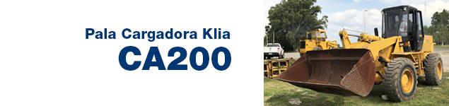 Pala Cargadora Klia CA200