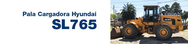Pala Cargadora Hyundai SL765