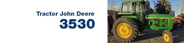 Tractor Jonh Deere 3530