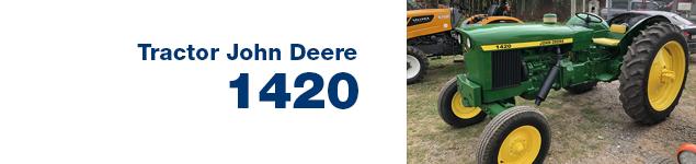 Tractor Jonh Deere 1420