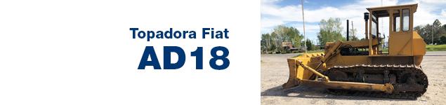 Topadora Fiat AD18