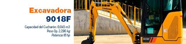 Excavadora CLG 9018F