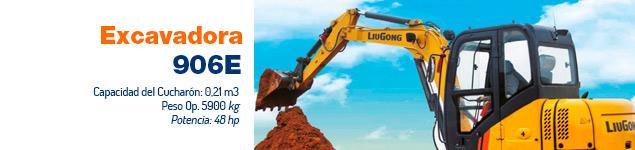 Excavadora CLG 906E